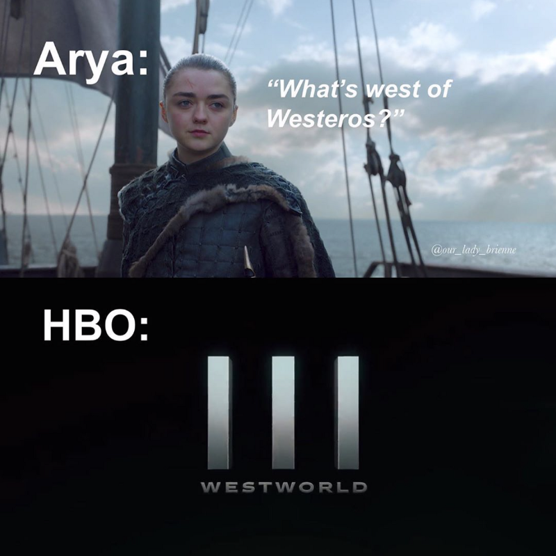 Well played, HBO, well played.